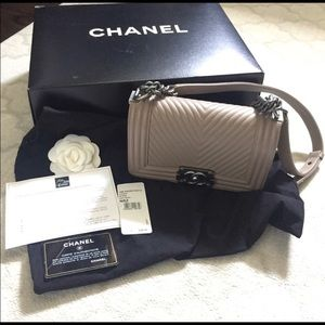 Chanel boy bag 100% authentic